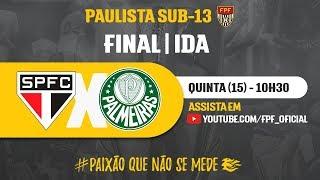 Video São Paulo 0 x 3 Palmeiras - Final - Paulista Sub-13 2018 MP3, 3GP, MP4, WEBM, AVI, FLV November 2018