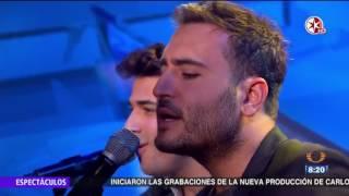 Video Reik - Ya Me Entere - presenta en Primero Noticias Des Amor - Primero Noticias Noticieros Televisa MP3, 3GP, MP4, WEBM, AVI, FLV Desember 2017