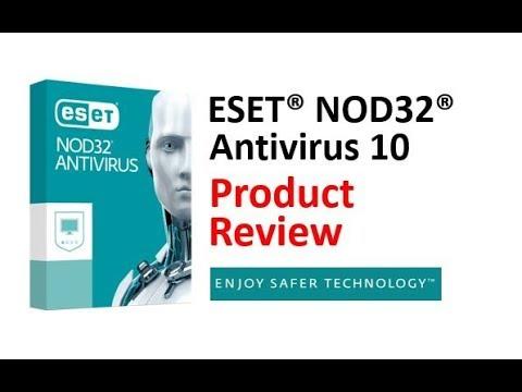 ESET NOD32 Antivirus Review  - PC Security