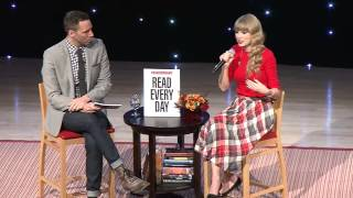 Taylor Swift Live Webcast  Read Every Day Lead a Better Life