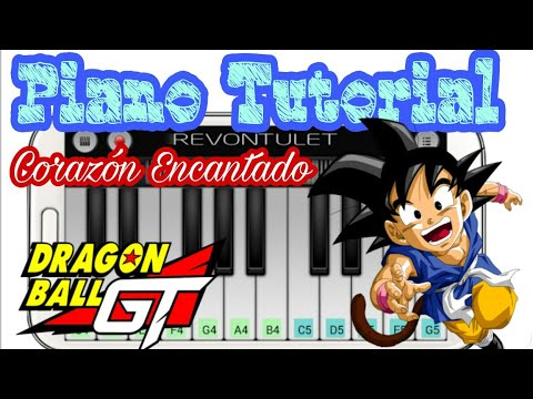 Aprende A Tocar Corazón Encantado Dragon Ball GT Tutorial Definitivo