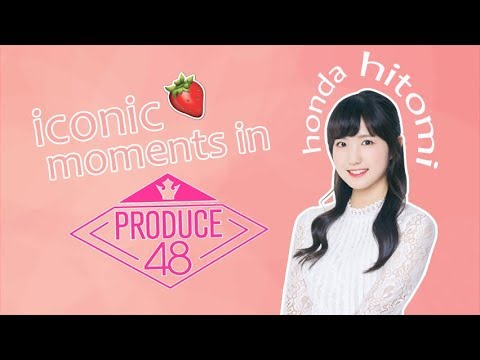 Honda Hitomi Iconic Moments In Produce 48