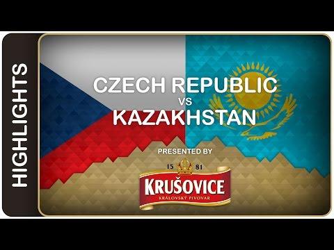 VIDEO : Čeští hokejisté zdolali  Kazachstán 3:1 a zajistili si postup do čtvrtfinále