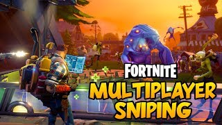 "Welcome to Fortnite! Fortnite is described as a co-op sandbox survival game and is about exploration, scavenging items, crafting weapons, building fortified structures, and fighting waves of encroaching monsters. Players will work together to scavenge items they can use for building, and defend their structures and objectives from the Husks. Building will be a core mechanic in the game, and there will be ""a lot of loot"" buried within. Players can build and edit each wall of their fort with a 3×3 grid, lay down stairs, roofs, and windows, sculpting them to suit a particular needPlaylist: https://goo.gl/rSpwe4MULTIPLAYER SNIPING TIME! - Fortnite PC Gameplay #2Second Channel: http://bit.ly/1XUOP8GTwitter: https://twitter.com/PartiallyRoyalInstagram: http://instagram.com/partroyalLivestream: http://www.twitch.tv/partiallyroyal"