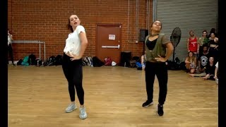 Video Maddie Ziegler & Charlize Glass - Dem Beats (Brian Friedman Choreography) MP3, 3GP, MP4, WEBM, AVI, FLV Juni 2018