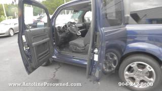Autoline Preowned 2008 Honda Element SC For Sale Used Walk Around Review Test Drive Jacksonville