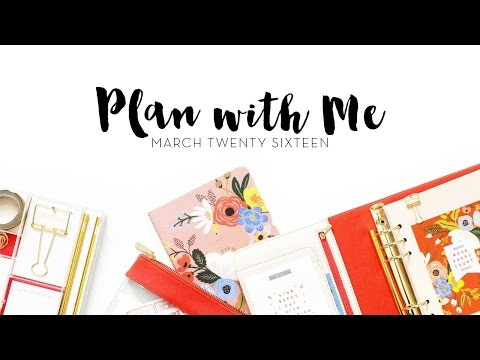Plan With Me! | March 2016