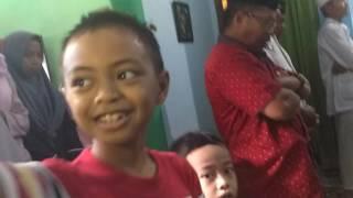Sunatan Fiyaz di Jl Matahari, Pangkajene, Pangkep, Sabtu (8/7/2017)....(*)