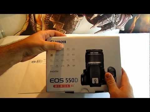 Canon EOS 550d Unboxing