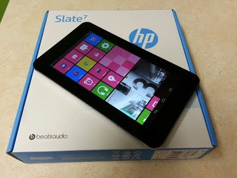 HP Slate  7 Windows 8 Look