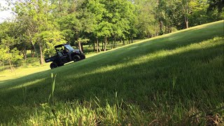 4. 2013 Polaris Brutus HD Hill Climb Test Low & High Gear Speed Review