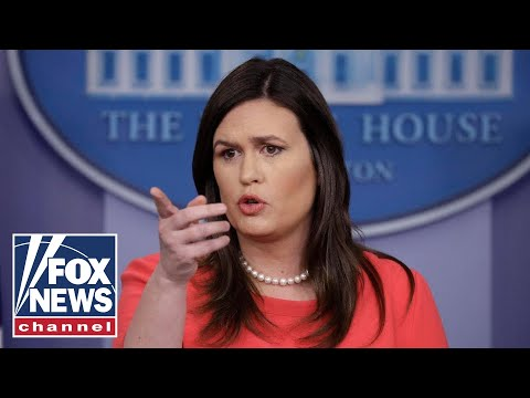 Reporters Ripping Sarah Sanders As She Leaves White House