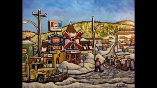 Edmundston (NB) Canada  City pictures : Jacques Raoul Tremblay, artiste peintre, Edmundston, NB, Canada. Vidéo en date du 7 mars 2015.