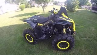 8. My BRAND NEW Can-Am Renegade 1000R XMR walk around!