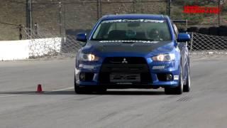 2008 Mitsubishi EVO X By AMS Track Tested