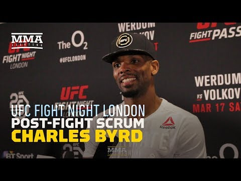 Charles Byrd 'Loved Every Minute' of Being Booed at UFC London - MMA Fighting