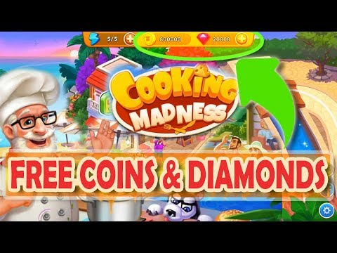 Cooking Madness Hack: How To Get Free Coins And Diamonds