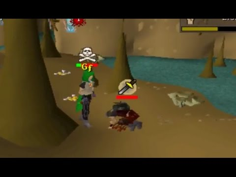 Getting Bank Loot in Edgeville Dungeon - Pking at Chaos Druids #2 (видео)