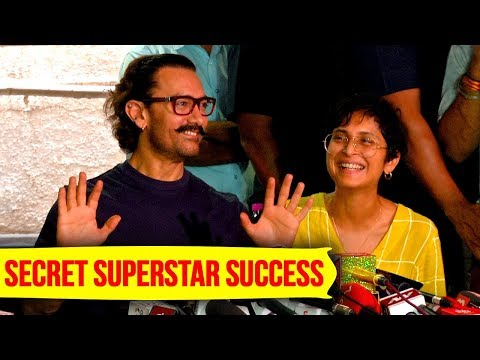 Aamir Khan REACTS On Secret Superstar Success In C