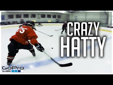 GoPro Hockey | CRAZY HAT-TRICK (видео)