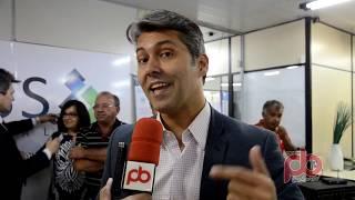 Leonardo Gadelha vem a Sousa, autoriza reforma da Agência do INSS, e confirma que será candidato a Federal