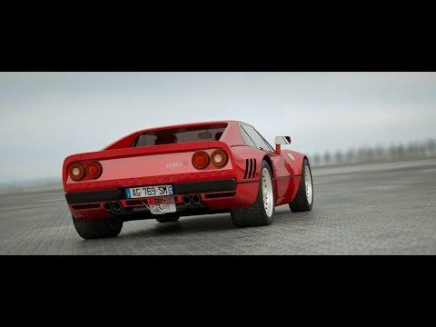 OCTANE RENDER - Ferrari 288 GTO + Honda CRX
