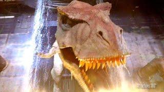 [4K] Jurassic Park The Ride in the Dark  - Universal Studios Hollywood