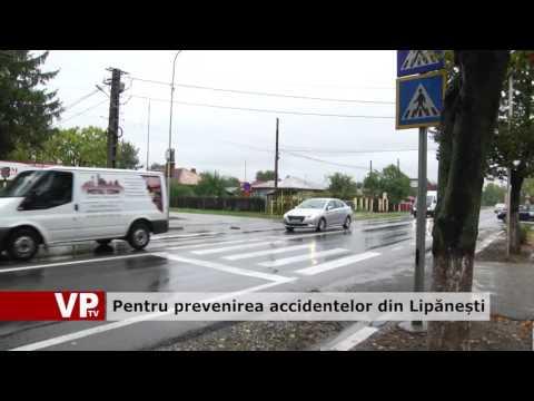 Pentru prevenirea accidentelor din Lipănești