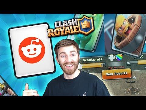 NEW BLIND DECK CHALLENGE & CLAN WARS NEXT UPDATE! | Clash Royale | APRIL UPDATE SPECULATION