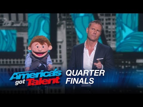 Paul Zerdin: Dummy Still Performs After Ventriloquist Walks Off Stage - America's Got Talent 2015 - Thời lượng: 3:39.