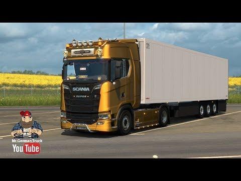 Scania S Series + Interior v1.0