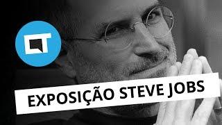 """Depois de passar pelo Rio de Janeiro, a exposição """"Steve Jobs, o visionário"""" chegou a São Paulo. Com fotografias inéditas..."""