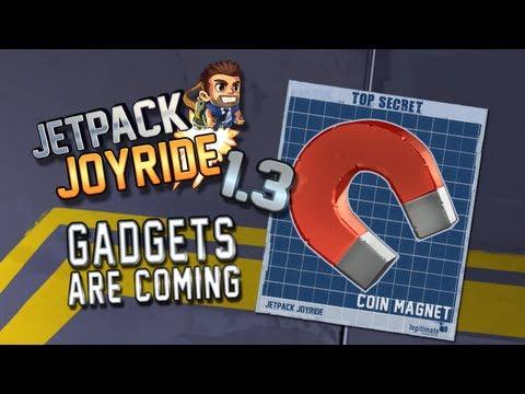 """Jetpack Joyride Gadgets Update """"Coin Magnet"""""""
