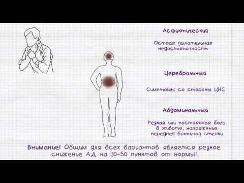 Оказание первой доврачебной помощи при анафилактическом шоке