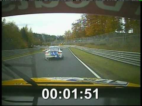 Nürburgring VLN BMW SP6 onboard gegen Werks BMW.avi (видео)