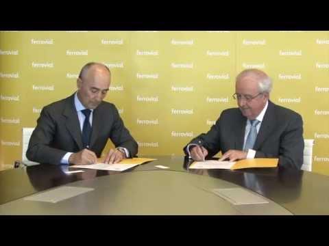 Ferrovial contribuirá a la rehabilitación y reacondicionamiento de siete centros de FESBAL