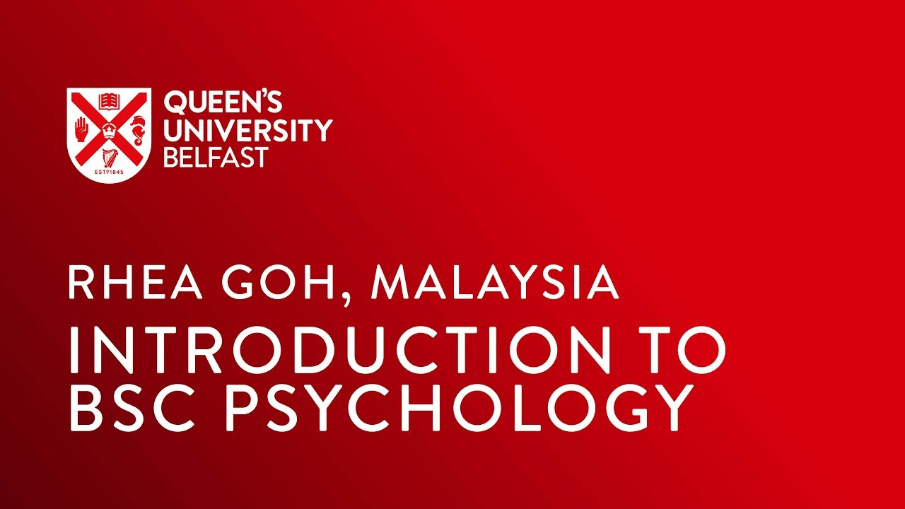 Video Thumbnail: Introduction to BSc Psychology by a Malaysian student
