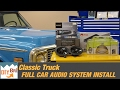Full Sound System Install Upgrade   Classic Chevy Stereo Install