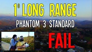 Não voe para longe com o controle desconfigurado! Tentamos fazer um voo de longa distância com o nosso Phantom 3 Standard...