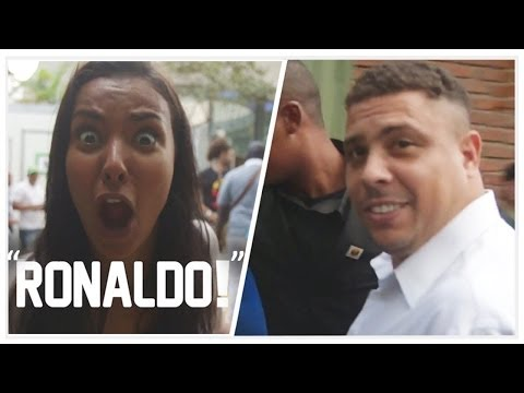 "Ronaldo!!! ""Can I Have a Selfie?"" 