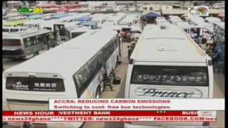 Ghana is considering increased investments in low-carbon urban bus fleets, as part of measures to tackle climate change. Under the soot free bus standard project, buses to be imported to Ghana  must have engine technologies that support cleaner fuels like concentrated natural gas,  advance diesel and hybrid electricity. Cabinet is yet to approve the plan.