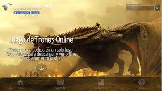 Para todos los usuarios novatos y no tan novatos de la web que tienen problemas al momento de ver online o descargar un episodio de la serie Juego de ...