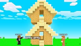 PRANKING My Friend's House In Camp Minecraft | JeromeASF