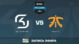 SK Gaming vs. fnatic - ESL Pro League S5 - de_cache [ceh9, yxo]