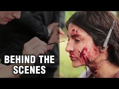 Anushka Sharma's Pari Scary Makeup Look Tutorial |