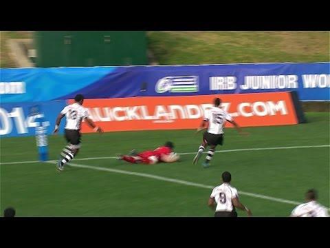 Dafydd Howells scores FASTEST try in international rugby?