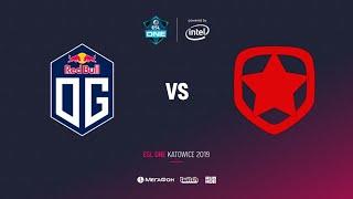 OG vs Gambit Esports , ESL One Katowice 2019, bo3, game 1, [Lex & 4ce]