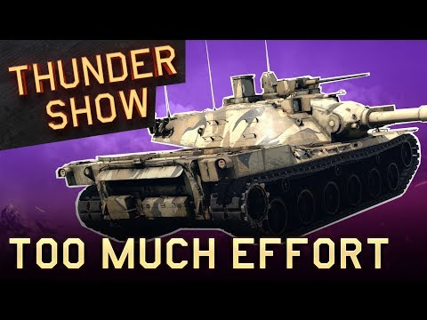 Thunder Show: Too much effort
