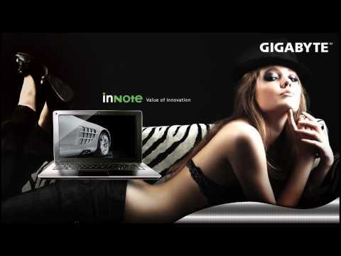 GIGABYTE Ultra Thin Notebook i1320 ScreenSaver