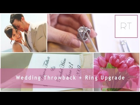My Wedding Throwback (Pics & Video) + Ring Upgrade Details | Rachel Talbott